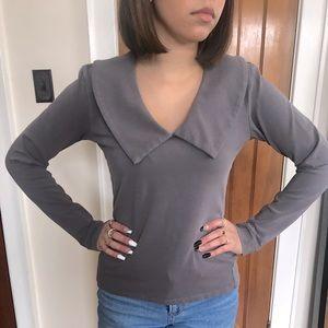 Ladies' Grey Top
